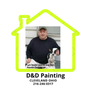 Wickliffe Ohio House Painter, D&D Painting 216-246-0317